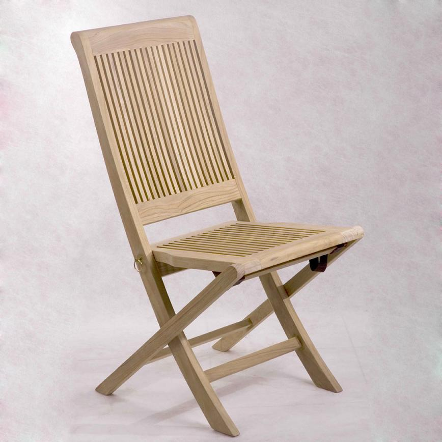Lahaina Folding Chair with Stainless Steel hardware