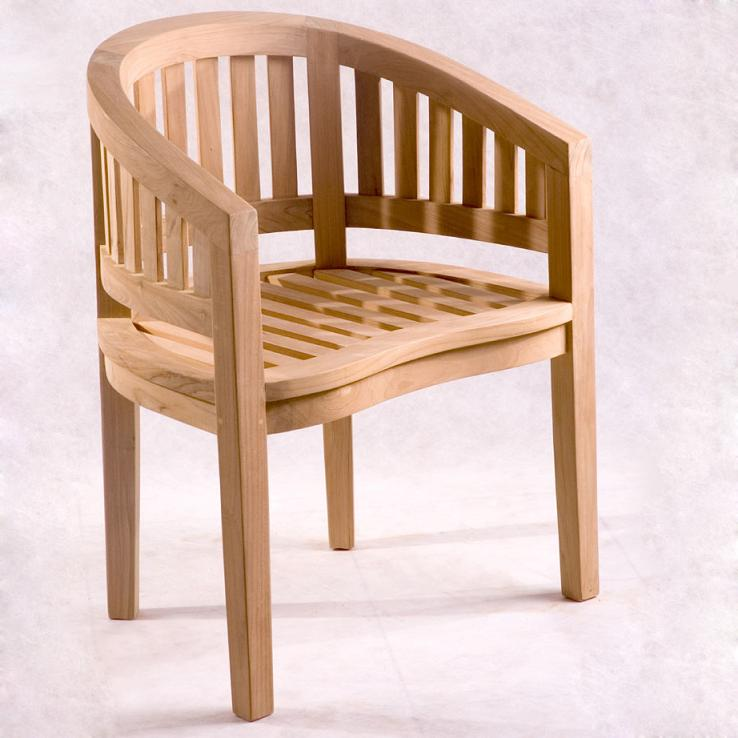 Banana Teak Wood Chair