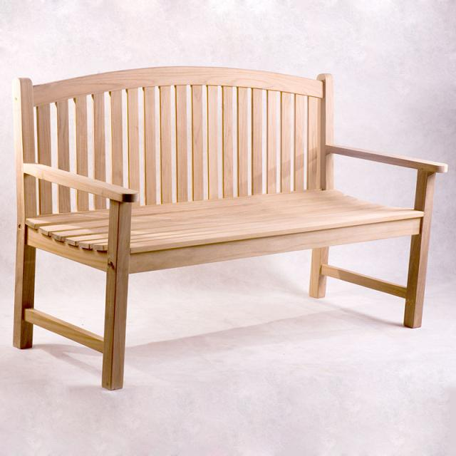 Traditional Bench 5ft with Stainless Steel hardware