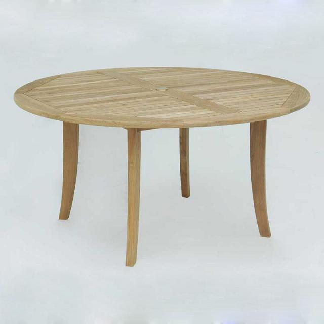 Lahaina Teak Wood Round Table 60 Inch Diam.