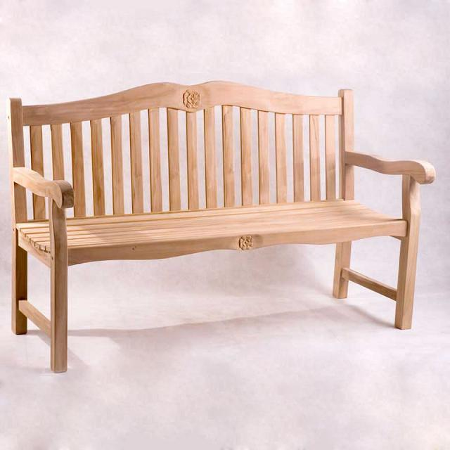 Rose Bench 6ft with Stainless Steel Hardware