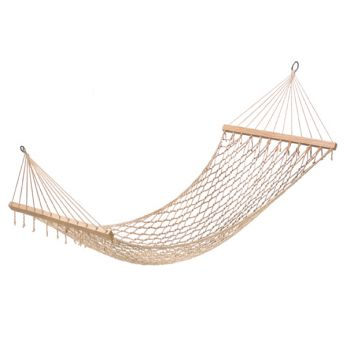 Single Person Recycled Cotton Hammock