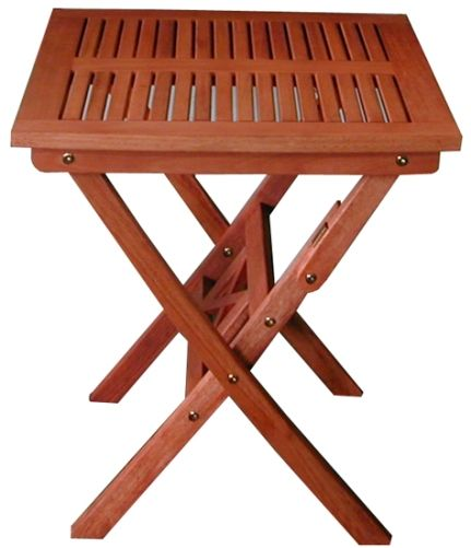 V03 Outdoor Wood Folding Bistro Table