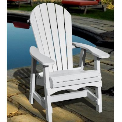 Recycled Plastic Dining Chair Adirondack Style