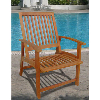 V1133 Outdoor Wood Chair