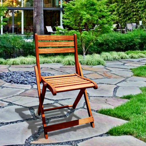 V1203 Outdoor Wood Folding Chair