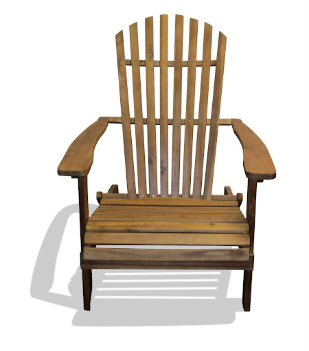 V1220A Outdoor Wood Ardirondack Chair
