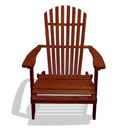 V1221A Outdoor Wood Ardirondack Chair