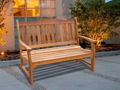 V1236E Outdoor Wood Bench
