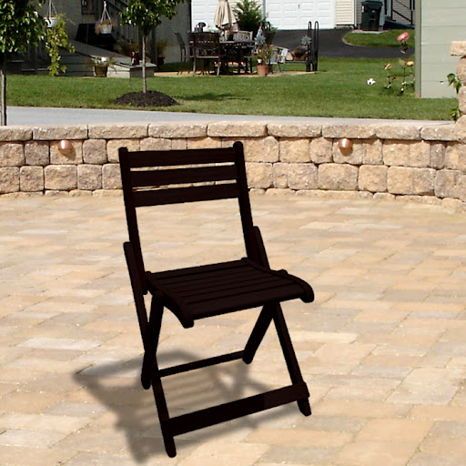 V1257 Outdoor Wood Folding Chair