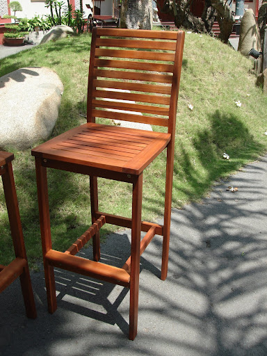 V1259 Eucalyptus Bar Stool