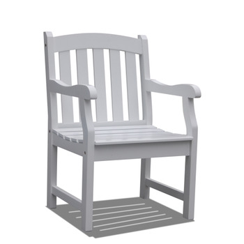 V1339 Bradley Outdoor Wood Armchair