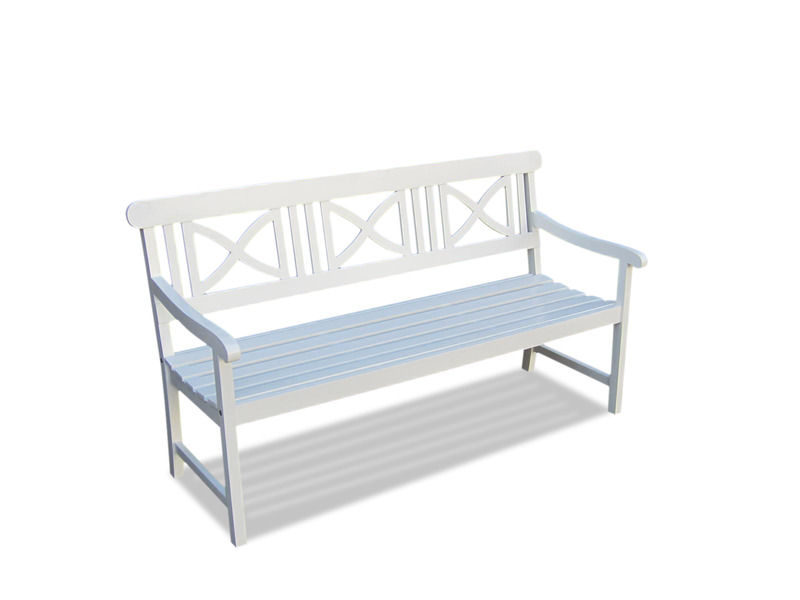 """V1344   Bradley Outdoor Wood Bench Bradley Outdoor Wood Armchair"""